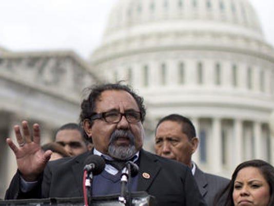 Raul Grijalva on Capitol Hill