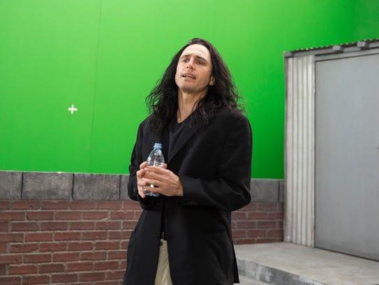 James Franco plays hapless filmmaker Tommy Wiseau in