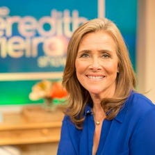 Meredith Vieira has joined the national conversation about domestic violence by revealing her own shocking history with abuse.