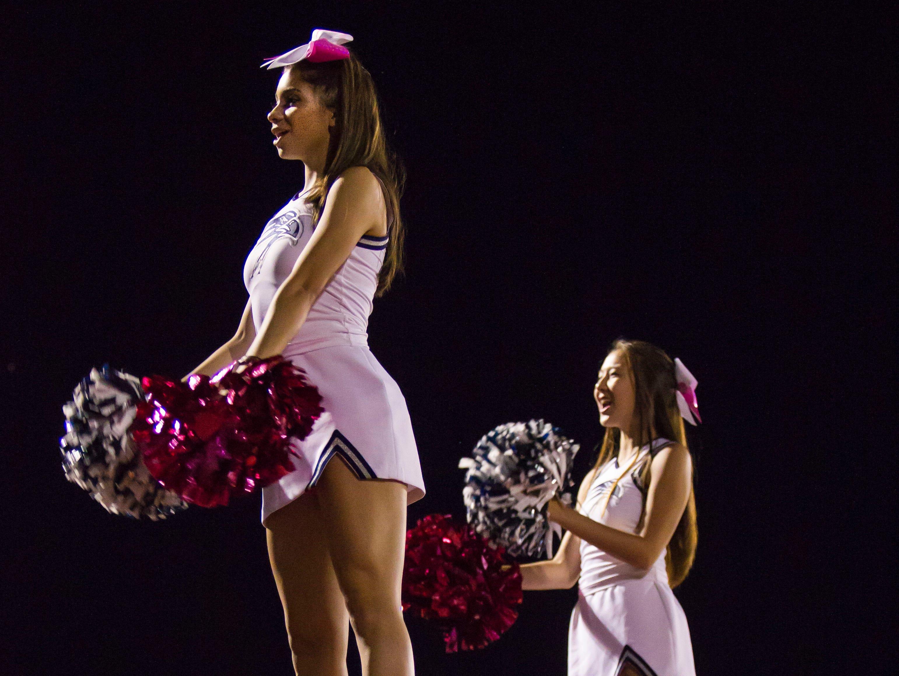 Ironwood Ridge cheerleaders.