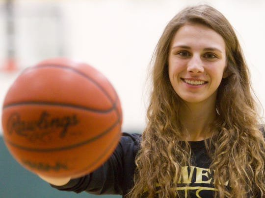 Howell High School's Erin Honkala has been named Girls Basketball Player of the Year.