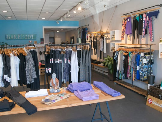 """Some the """"athleisure"""" wear available at Barefoot in Spring Lake."""