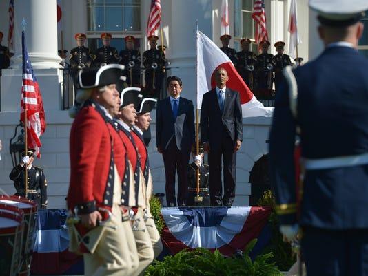 US-JAPAN-DIPLOMACY-OBAMA-ABE