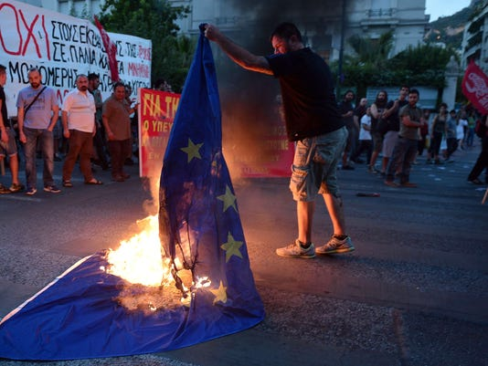 GREECE-POLITICS-ECONOMY-EU-IMF-PROTEST