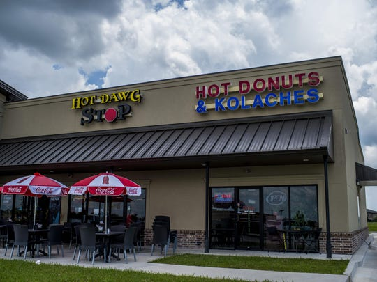 The Hot Dawg Stop in Youngsville, La., is pictured on Friday, July 10, 2015.