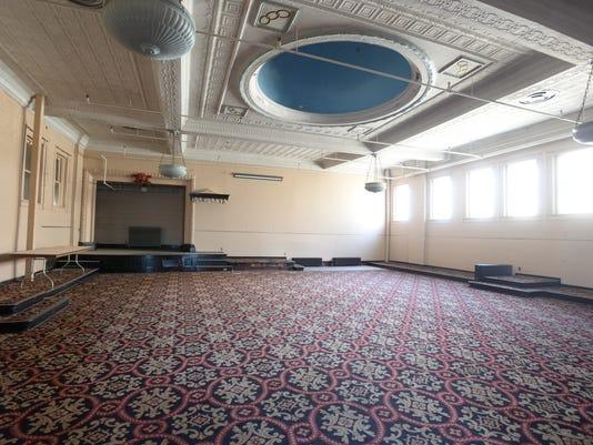 ballroom with dome