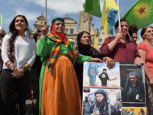 BELGIUM-TURKEY-KURDS-CONFLICT-DEMO