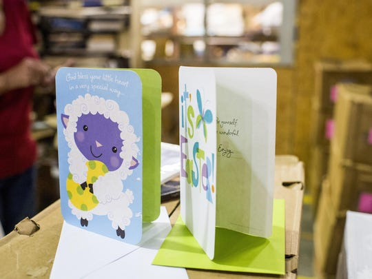 Greeting cards are just one thing you can find at the semi-annual Friends of the Lafayette Library Book Sale.
