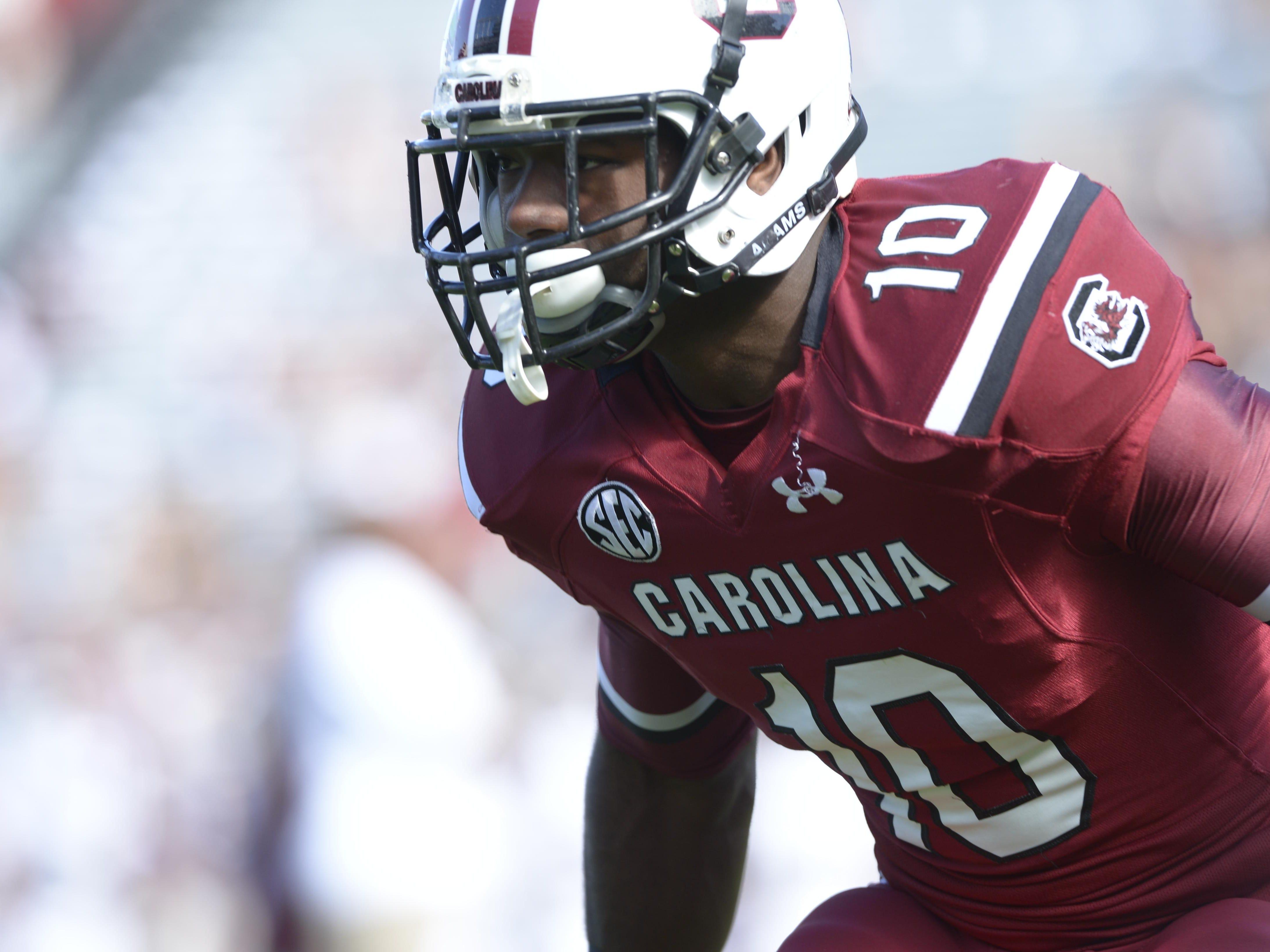 Junior linebacker Skai Moore is confident the Gamecocks will show improvement this season.