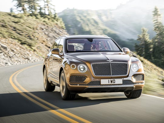 The luxurious Bentley Bentayga has a rugged air suspension system with eight settings so the driver can match the system to the road or off-road conditions, thus stabilizing the car.