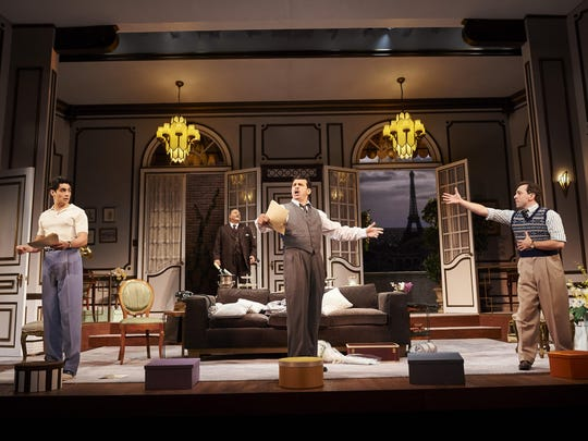 Ken Ludwig's A Comedy of Tenors is directed by Stephen Wadsworth.