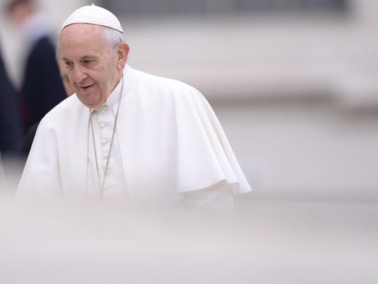 VATICAN-POPE-AUDIENCE-HEALTH