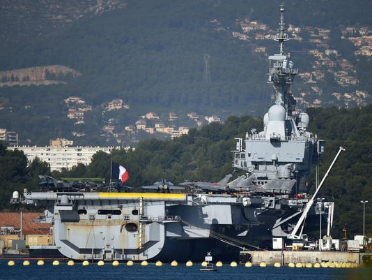 FRANCE-SYRIA-CONFLICT-NAVY