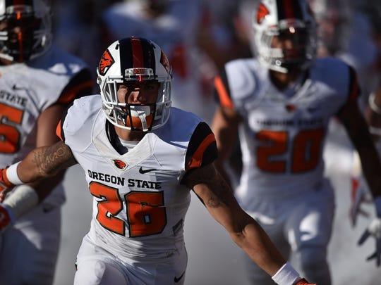 Oregon State defensive back Devin Chappell moved to Springfield at the age of 9 and used to root for the Ducks.
