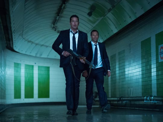 """Gerard Butler and Aaron Eckhart star in """"London is Falling."""""""
