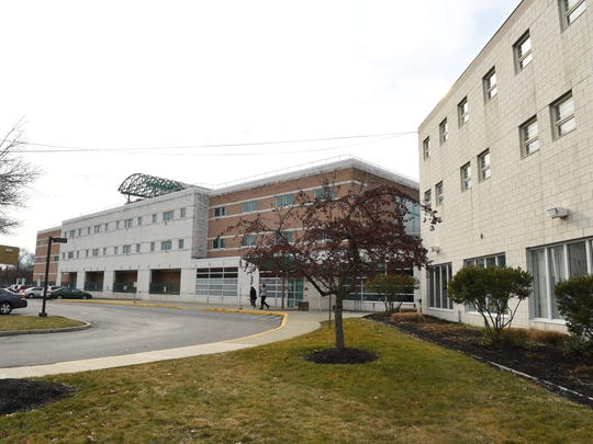 The Dutchess County Jail in the City of Poughkeepsie.