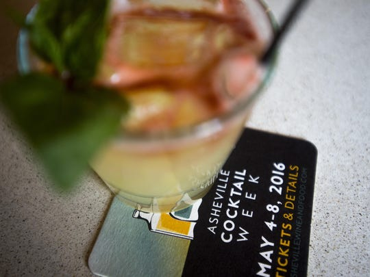 Asheville Wine and Food Festival and Spirit Savvy are putting on Asheville Cocktail Week this year at the beginning of May.