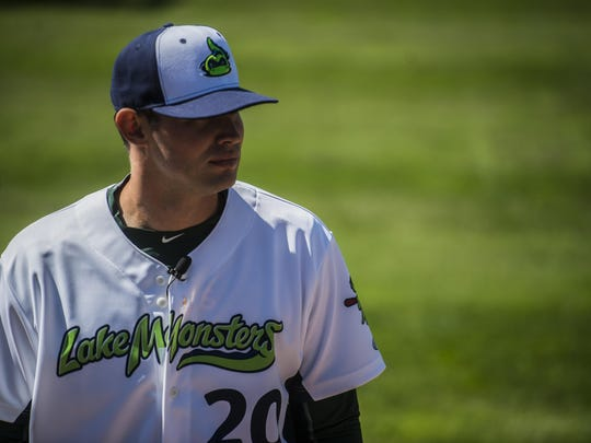Jordan Schwartz returns for his second season this year pitching for the Vermont Lake Monsters.