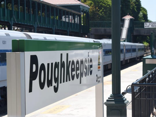 The Poughkeepsie train station in the City of Poughkeepsie.