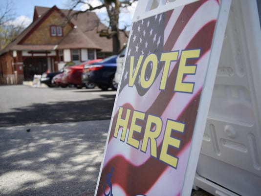 Primary election in Poughkeepsie