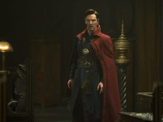 Doctor Stephen Strange (Benedict Cumberbatch) ready