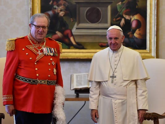 FILES-VATICAN-POPE-AUDIENCE-MALTA