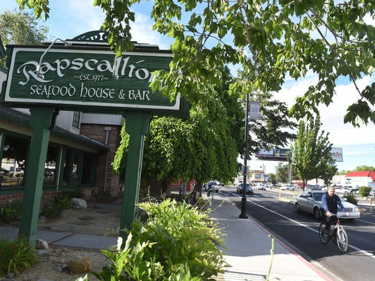 Rapscallion Seafood House & Bar in Reno.