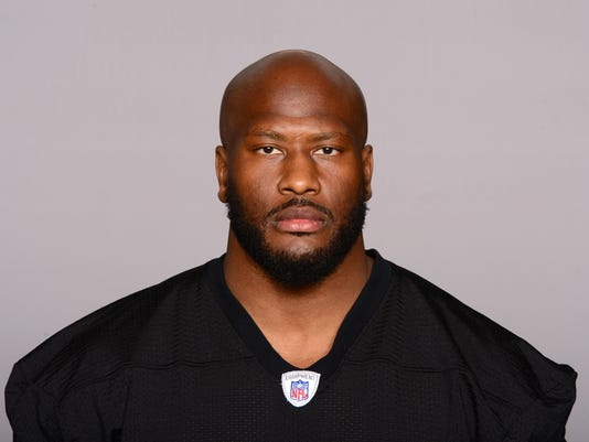 This is a 2017 file photo showing James Harrison of the Pittsburgh Steelers NFL football team. Longtime Pittsburgh Steelers linebacker James Harrison is taking a second crack at retirement. The five-time Pro Bowler and 2008 NFL Defensive Player of the Year announced on Instagram early Monday, April 16, 2018, that he is stepping away from the game following a 15-year career. (AP Photo/File)