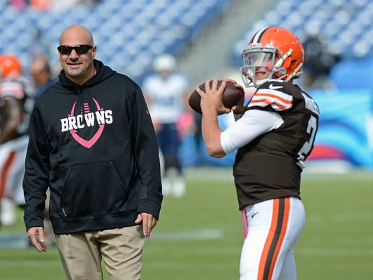 Mike Pettine, Johnny Manziel
