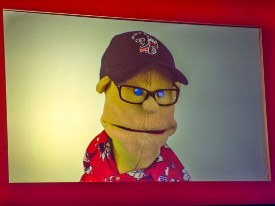 "Puppets will play a big part in ""Alton Brown Live! The Edible Inevitable Tour"" which comes to Mann Hall Thursday."