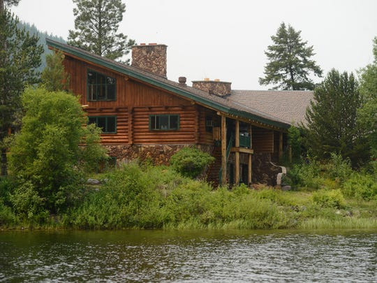 The University of Montana is selling the Montana Island Lodge on Salmon Lake.