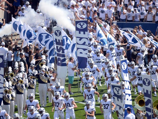After starting the season 4-0, Brigham Young has lost four straight games. The Cougars play at MTSU's Floyd Stadium for the first time ever on Saturday.