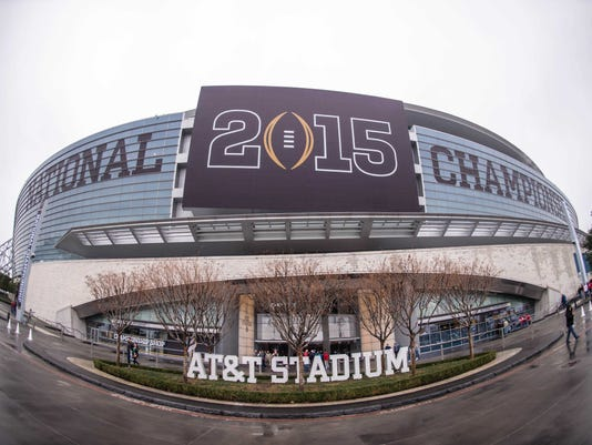 NCAA Football: National Championship-Features