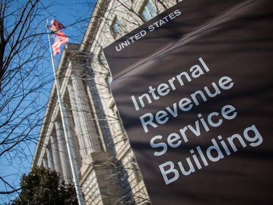The Internal Revenue Service (IRS) building in Washington,