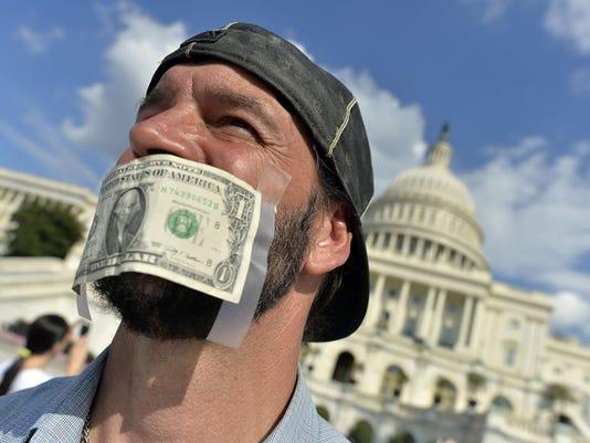 DC Capitol protest