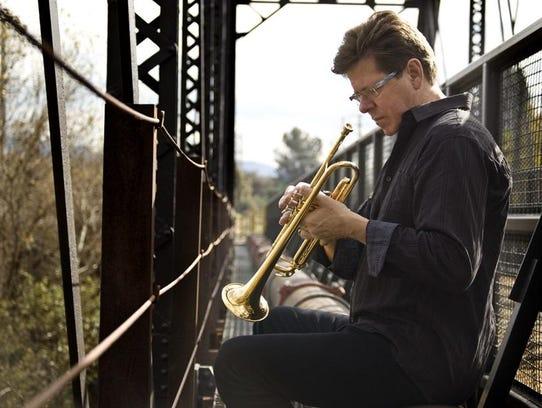 World-renowned trumpet player Wayne Bergeron performs