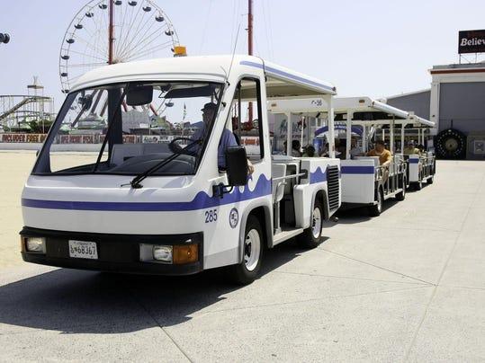 oc boardwalk tram
