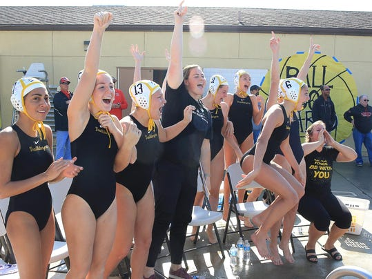 Golden West girls water polo