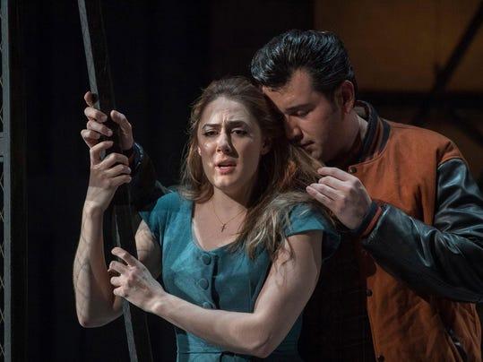 ENO-Rigoletto-Joshua-Guerrero-and-Sydney-Mancasola-c-Alastair-Muir
