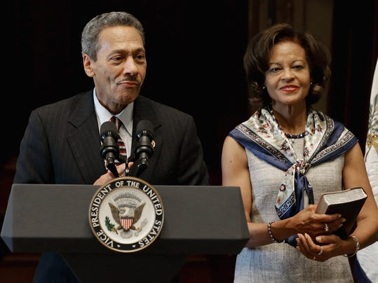 Biden Swears In Mel Watt As Director Of The Federal Housing Agency