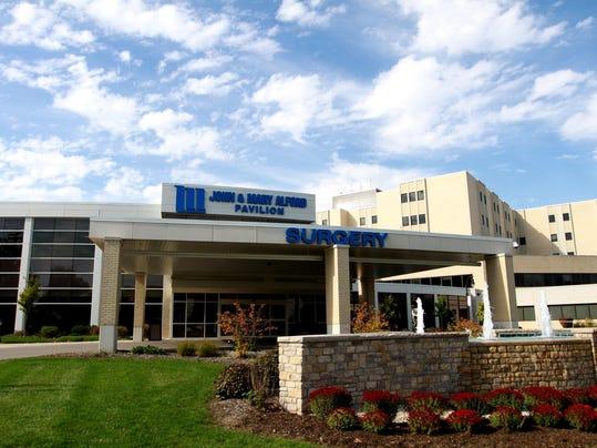 Licking Memorial Hospital, pavilion
