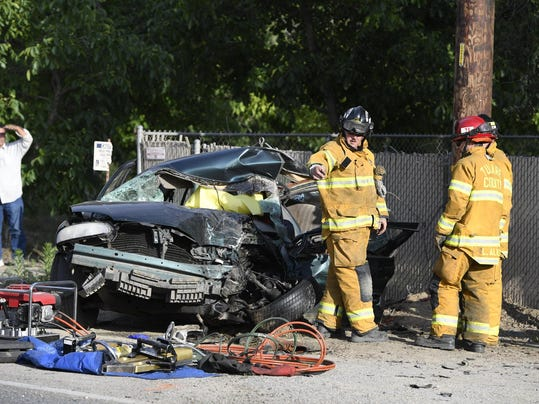 Tulare News Car Accident