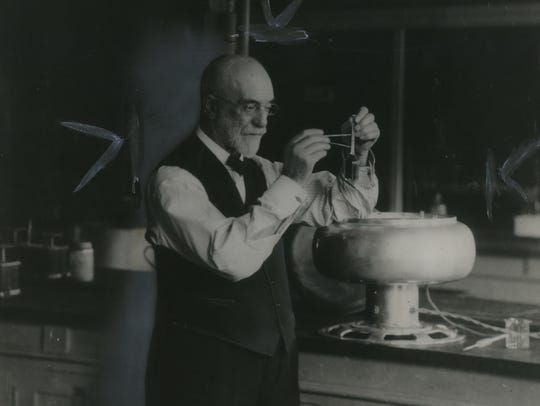 Stephen Moulton Babcock invented the Babcock butterfat test.