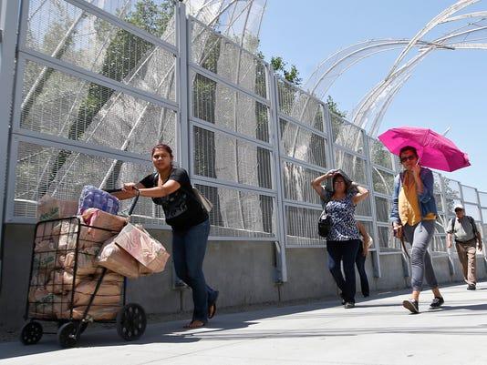 Mexico Checks Foreigners