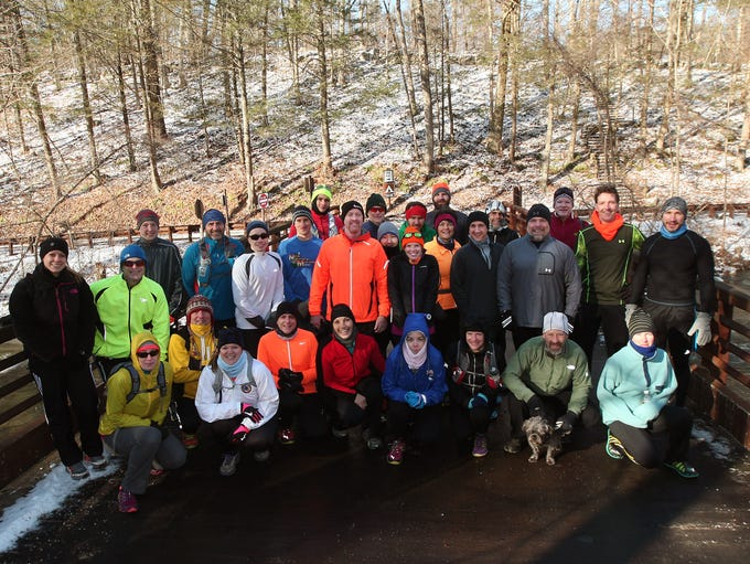 Local running group, the Salt Shakers, beginning their