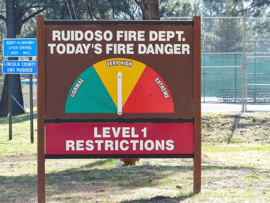 fire-danger-sign-ruidoso
