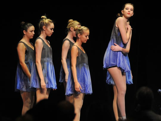 Dancers from Dance Zone in Melbourne perform at a previous