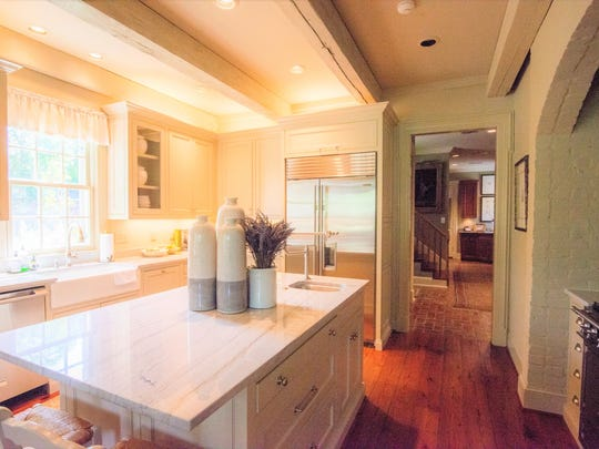 The remodeled kitchen is a true gourmet's delight with