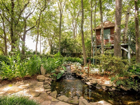 There is plenty of outdoor space for enjoying nature.