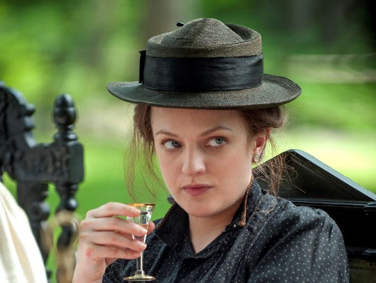 """In """"The Seagull,"""" Masha (Elisabeth Moss) drinks a little"""